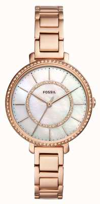 Fossil jocelyn rose goud ES4452