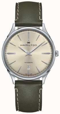 Hamilton Jazzmaster thinline automatic olijfgroen H38525811