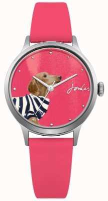 Joules Roze damesring in roze wijzerplaat JSL010P