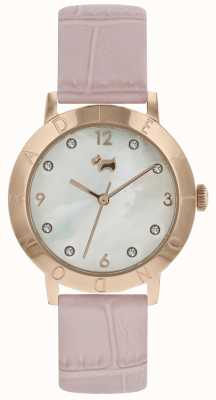 Radley Dames radley highgate hout horloge rose goud roze band RY2538