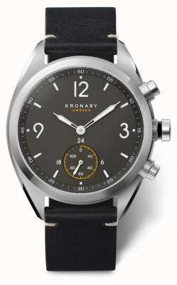 Kronaby Apex smartwatch | zwarte band | a1000-3114 S3114/1