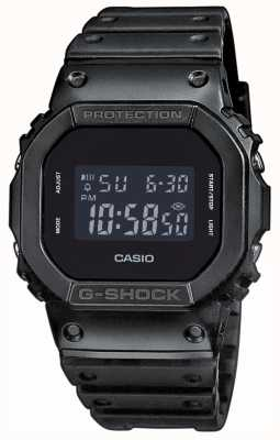 Casio G-shock black-out wijzerplaat harsband heren DW-5600BB-1ER