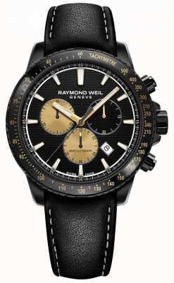 Raymond Weil Tango 300 | marshall versterking | limited edition heren 8570-BKC-MARS