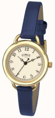 Limit Dames beperken horloge | blauwe riem 6232.01