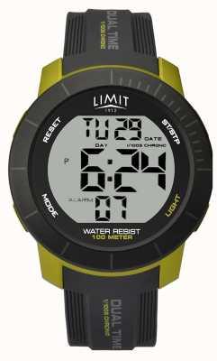 Limit Mens limiet | horloge met dubbele tijd chronograaf 5675.66