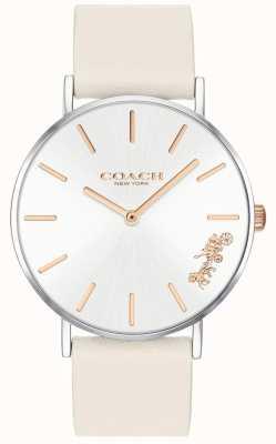 Coach Dames perry horloge | krijt wit leer | witte wijzerplaat 14503117