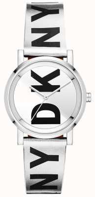 DKNY Womens soho silver horloge NY2786