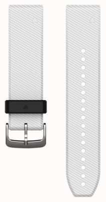 Garmin Witte rubberen strap quickfit 22mm fenix 5 / instinct 010-12500-01
