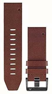 Garmin Bruine leren riem quickfit 22mm fenix 5 / instinct 010-12496-05