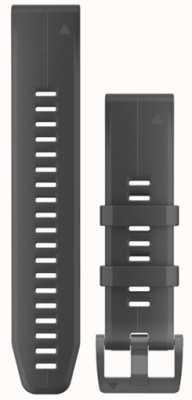 Garmin Zwarte rubberen riem quickfit 22mm fenix 5 / instinct 010-12740-00