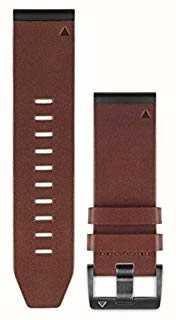 Garmin Bruine leren riem quickfit 26mm fenix 5x / tactix charlie 010-12517-04