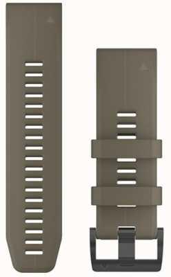 Garmin Tan rubberen strap quickfit 26mm fenix 5x / tactix charlie 010-12741-04