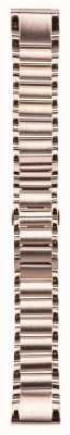 Garmin Roségoud roestvrijstalen band quickfit 20mm fenix 5s 010-12739-02