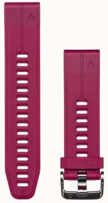 Garmin Paarse rubberen band quickfit 20mm fenix 5s 010-12739-05