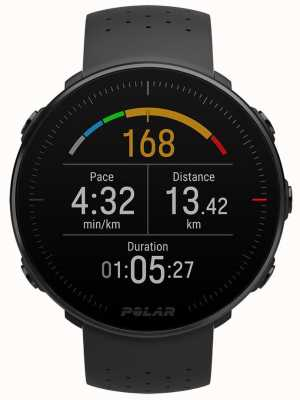 Polar Vantage m zwart medium / large gps multisport uur 90069736