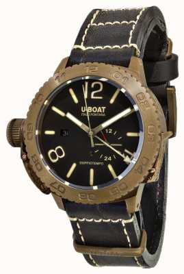 U-Boat Doppiotempo bronzen 46 automaat 9008