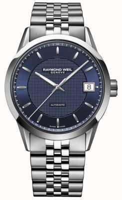 Raymond Weil Heren | freelancer donkerblauw | automatisch horloge 2740-ST-50021