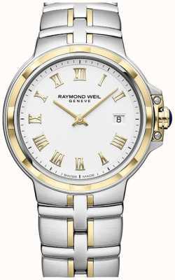 Raymond Weil Parsifal tweekleurig | goud en roestvrij staal | herenhorloge 5580-STP-00308