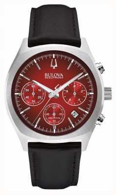 Bulova Mens accutron ii rode chronograafdagdatum 96B238