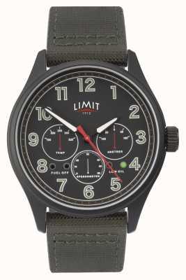 Limit | heren zwart horloge | 5969.01