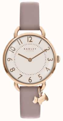 Radley Dames | southwark park | roze leren riem RY2544