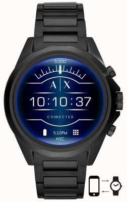 Armani Exchange Drexler zwart | roestvrij staal | SmartWatch AXT2002