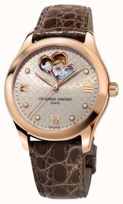 Frederique Constant | vrouwen | hart automatisch | rose gouden toon FC-310LGDHB3B4