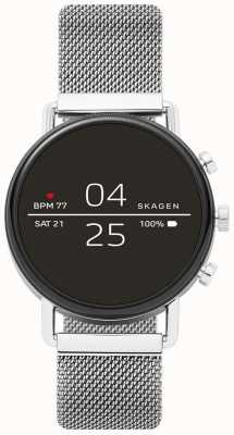 Skagen Connected falster 2 roestvrijstalen gaas smartwatch SKT5102