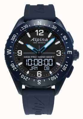 Alpina heren alpinerx | smartwatch | AL-283LBN5NAQ6