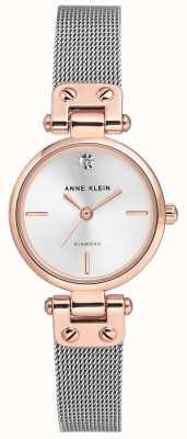 Anne Klein | kabelhorloge voor vrouwen | zilveren tint | AK/N3003SVRT
