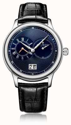 Dreyfuss Herenhorloge met quartz chronograaf zwart leer DGS00120/05