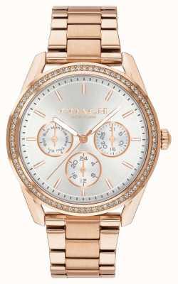 Coach | preston horloge | chronograaf roségoud edelstaal | 14503267