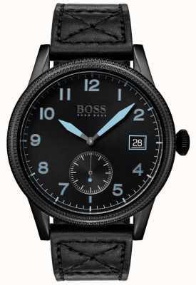 Boss | heren zwarte erfenis | zwart roestvrij staal | 1513672