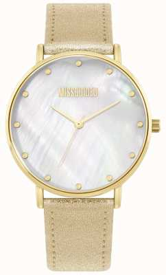 Missguided | dames gouden lederen band | MG014GG