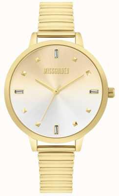 Missguided | dames gouden horloge | MG012GM