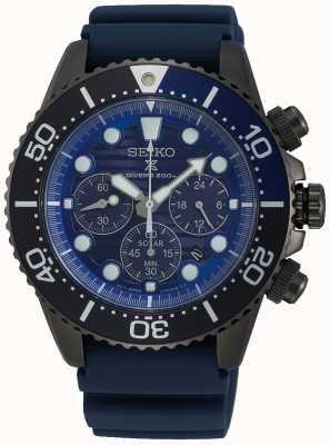Seiko Zonnewarmers redden de speciale editie Ocean Black Series SSC701P1