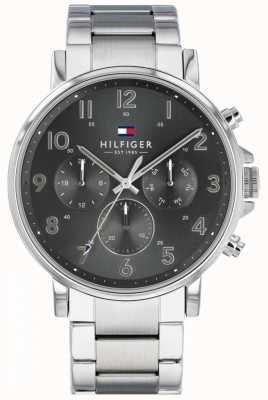 Tommy Hilfiger | heren roestvrij stalen daniel horloge | 1710382
