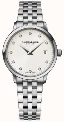 Raymond Weil | dames toccata diamanten horloge | 5988-ST-40081