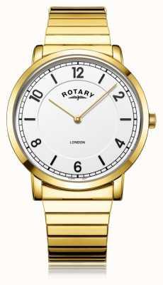 Rotary   heren vergulde armband   GB02766/18