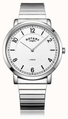 Rotary | heren armband in edelstaal | GB02765/18