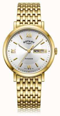 Rotary   heren vergulde armband   GB05303/09