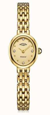 Rotary   dames vergulde armband   LB05151/03/D