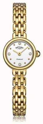 Rotary   dames vergulde armband   LB05153/02/D