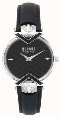 Versus Versace | zwarte lederen damesriem VSPLH0119
