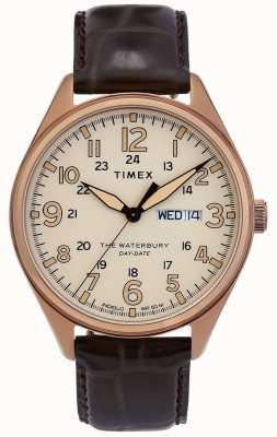 Timex | waterbury traditionele dag datum horloge | TW2R89200D7PF