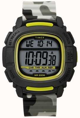 Timex | boost shock zwart / lime / camo digitaal | TW5M26600SU