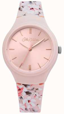 Cath Kidston   damesroze bloemenriem   roze wijzerplaat   CKL068P