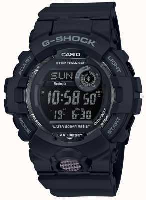 Casio | zwart digitaal rubberen horloge | GBD-800-1BER