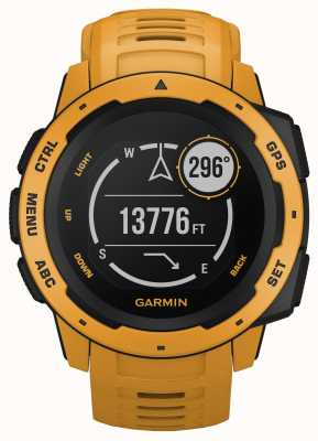 Garmin Instinct sunburst outdoor gps siliconen band 010-02064-03