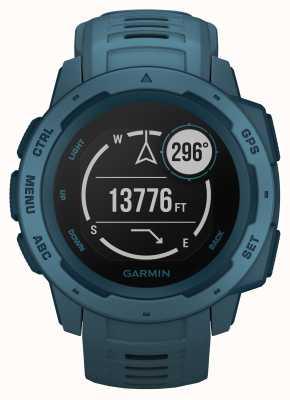 Garmin Instinct lakeside blauwe outdoor gps siliconen band 010-02064-04